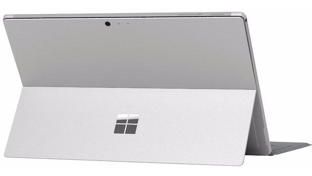 Microsoft Surface Pro 4 Refresh von hinten. (Bild: VentureBeat)