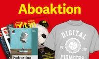 "Mitp-Buch ""Podcasting"" gratis zum t3n-Abo!"
