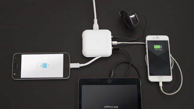Macbook Pro: Geniales Ladekabel dient auch als USB-Hub
