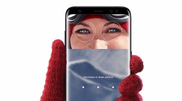 Samsung Galaxy S8: So einfach lässt sich der Iris-Scanner überlisten
