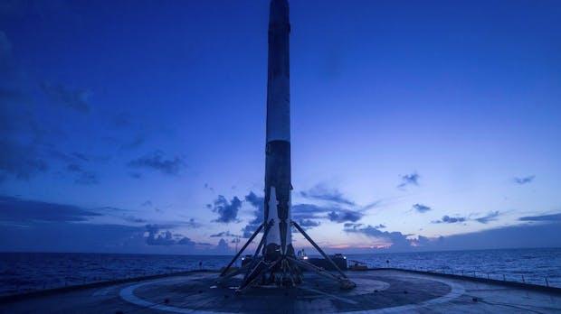 SpaceX ist jetzt eines der wertvollsten Startups der Welt