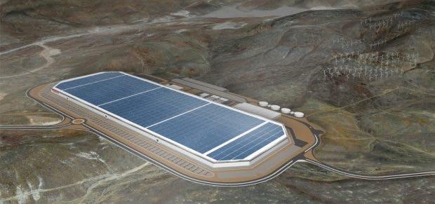 Gigafactory. (Bild: Tesla)