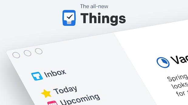 Things 3 ist da: Deutsches To-do-Tool von Grund auf neu entwickelt