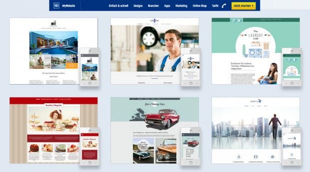 Homepage Baukästen Die Wichtigsten Anbieter Im Vergleich T3n