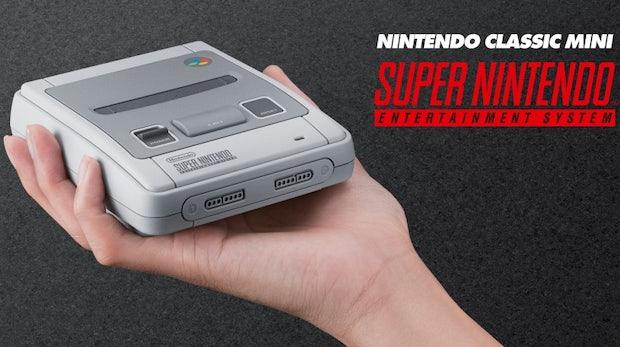 Nintendo bringt SNES Classic Mini auf den Markt – inklusive niemals veröffentlichtem Spiel
