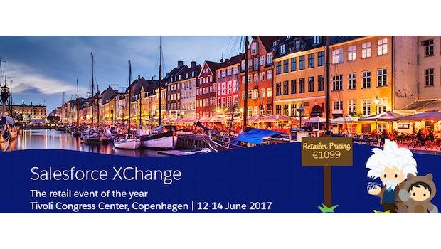 Die Salesforce Xchange, die sich an Händler richtet, fand 2017 in Kopenhagen statt.