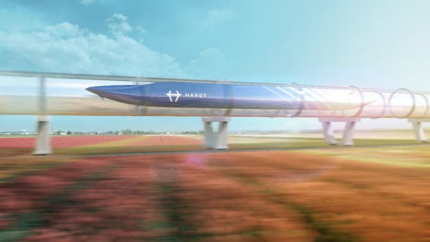 In 30 Minuten von Amsterdam nach Paris: Hyperloop soll das ab 2021 ermöglichen
