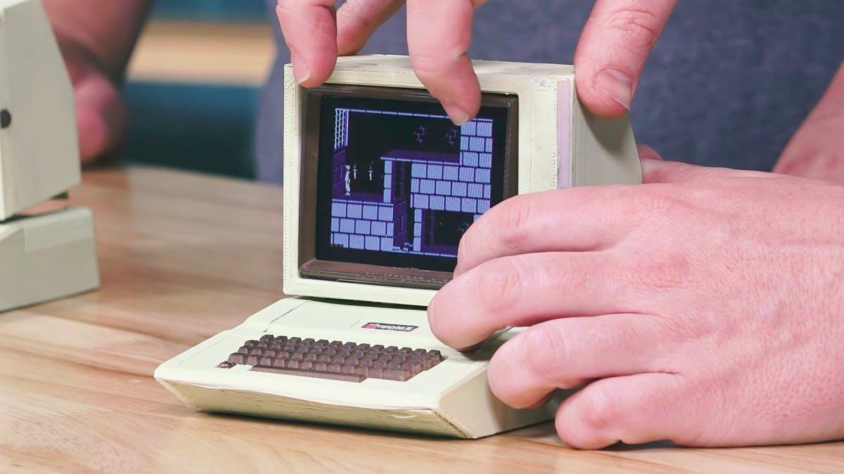 Apple IIe: Bastler baut den Kultcomputer im Miniaturformat nach
