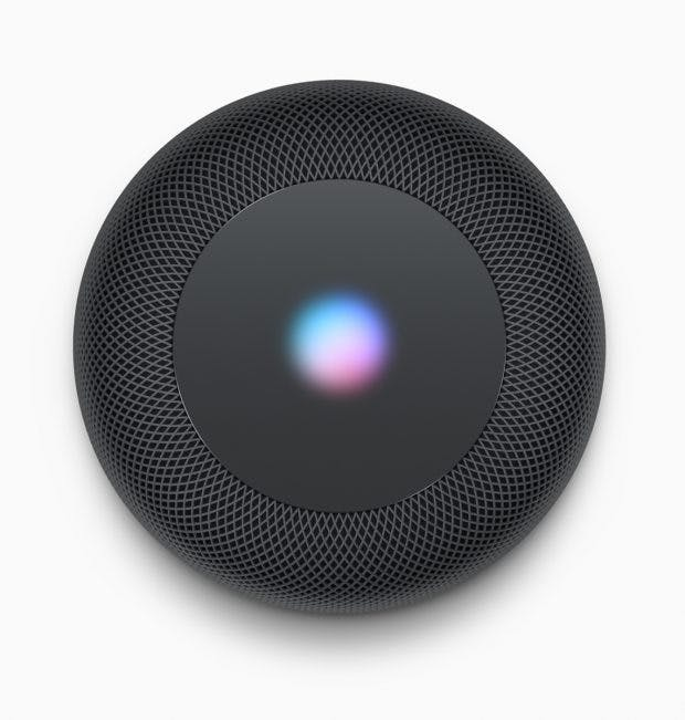 Apples Homepod kommt mit Siri an Bord. (Bild: Apple)