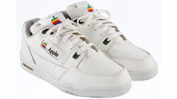Ungewöhnliches Apple-Produkt aus den 90ern: Diese Turnschuhe kosten 15.000 Dollar