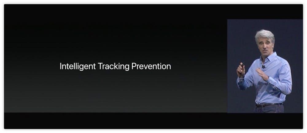 Safari bekommt ein Autoplay-Blocking und Verhindert das Werbetracking. (Screenshot: Apple)