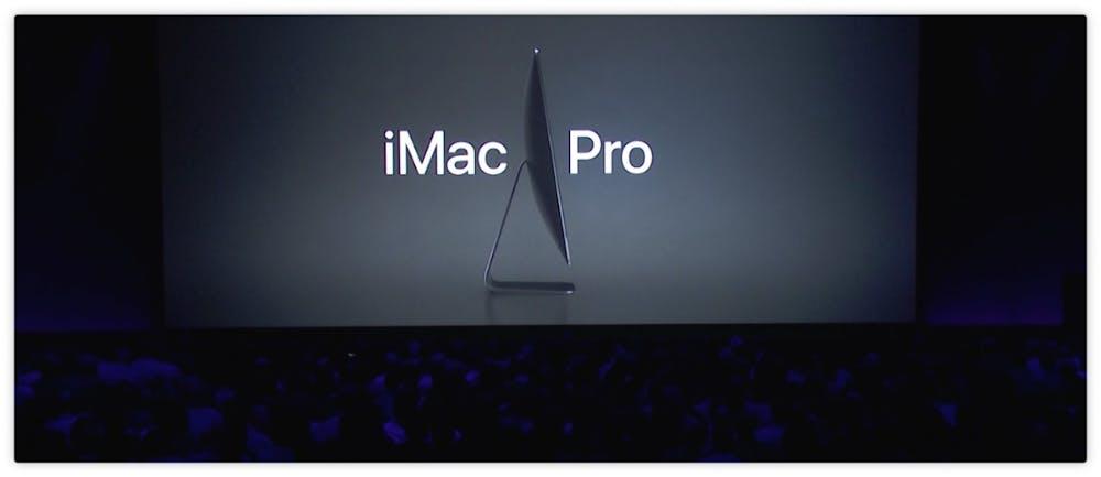 Für die Power-User gibt es einen iMac Pro mit bis zu 18 Kernen. (Screenshot: Apple)