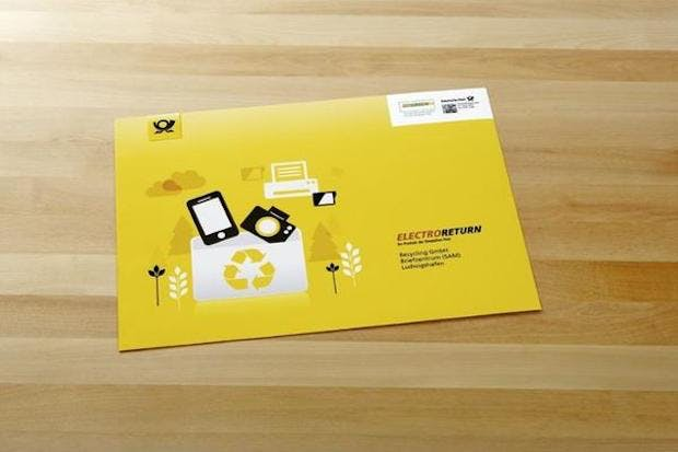 Elektroschrott kostenlos per Briefkasten entsorgen – so geht's