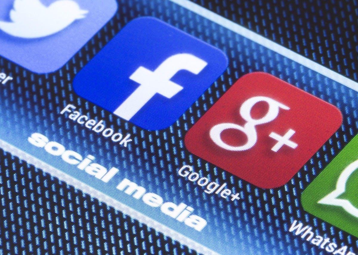 Werbemarkt: Online wachsen fast nur Facebook und Google