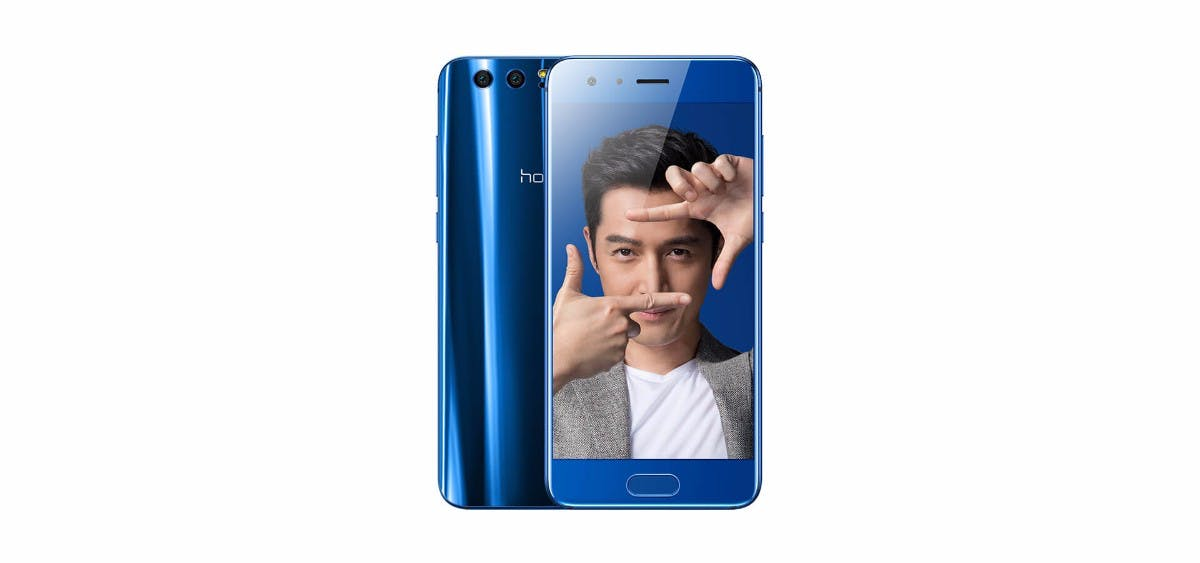 Honor 9 in Blau. (Bild: Honor)