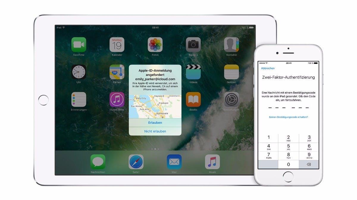Apple macht Zwei-Faktor-Authentifizierung bei iOS 11 und macOS High Sierra zur Pflicht