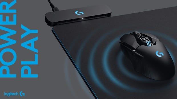 Dieses Logitech-Mousepad ist eine riesige kabellose Ladestation