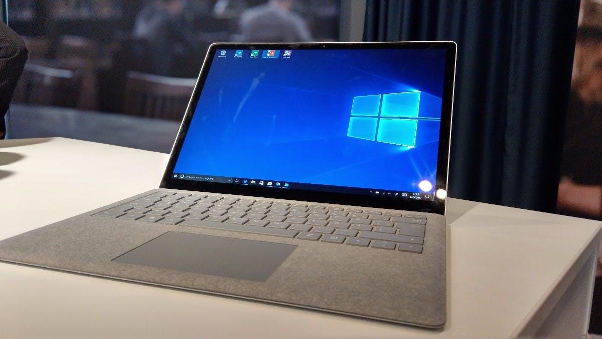 Microsofts Surface Laptop macht offenbar keine gute Figur bei der Nutzung. (Bild: t3n)