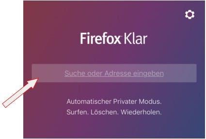 Firefox Klar für Android. (Bild: Mozilla, Screenshot Golem.de)