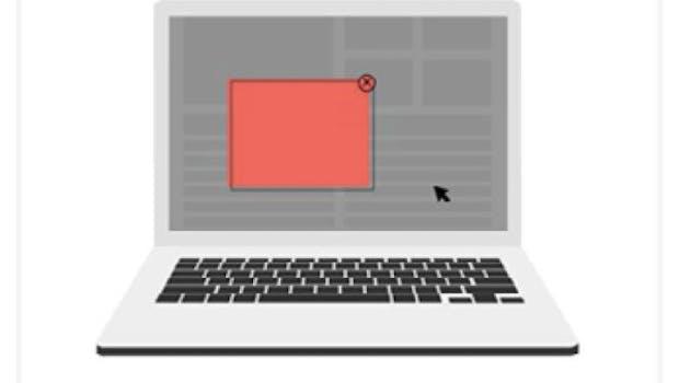 Desktop: Pop-up-Anzeigen mit und ohne Countdown. (Grafik: Coalition for Better Ads)