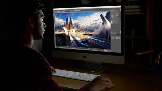 Dem iMac Pro soll auch bei besonders anspruchsvollen Aufgaben nicht die Puste ausgehen. (Bild: Apple)