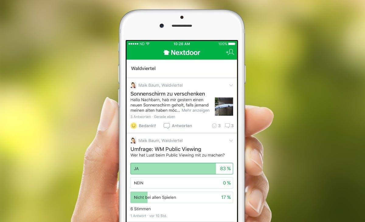 Auf gute Nachbarschaft: Wie Nextdoor die Bundesrepublik erobern will