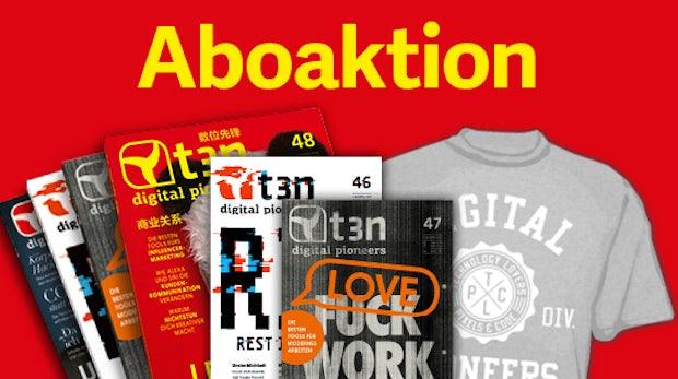 t3n-Abo inklusive 2 Gratis-Ausgaben