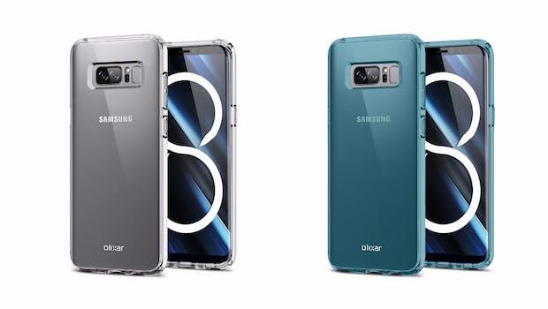 Ein Hüllenhersteller soll das Design des Samsung Galaxy Note 8 schon bestätigt haben. (Bild: Mobilefun)