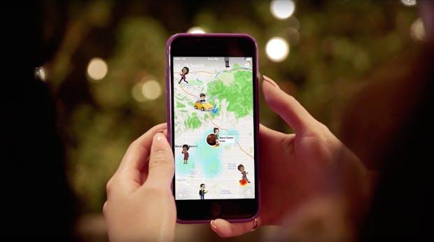 Snap Maps: Wie Snapchat sich Instagram vom Leib halten will