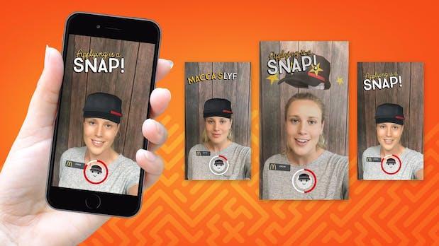Bewerbung per Snapchat: McDonald's ungewöhnliche Mitarbeitersuche