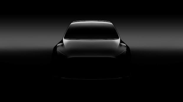 Tesla Model Y: Elon Musk zeigt erstes Teaserbild vom kompakten SUV
