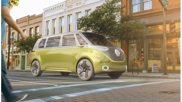 VW I.D. Buzz. (Bild:Volkswagen)