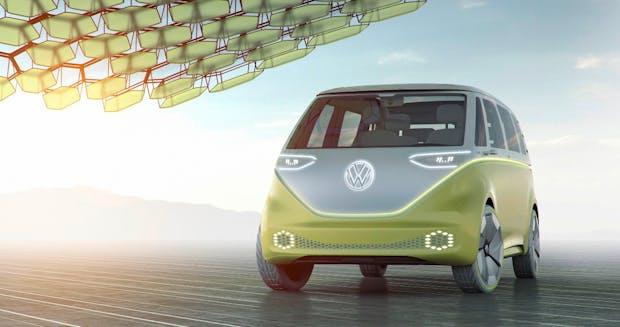 VW und Nvidia bringen KI in den Elektrobulli I.D. Buzz