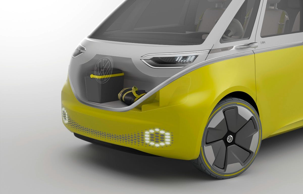 E-Bulli ID Buzz is set to become the first autonomous VW vehicle