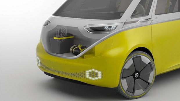 E-Bulli ID Buzz soll erstes autonom fahrendes VW-Fahrzeug werden