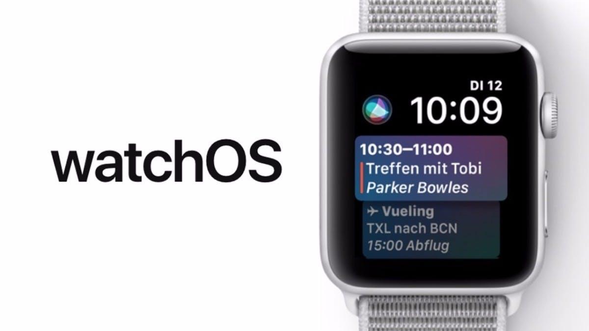 watchOS 4: Das bringt das neue Update am 19. September auf ...