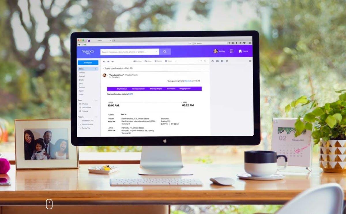 Yahoo Mail: Neugestaltung bringt Redesign und werbefreie Pro-Option