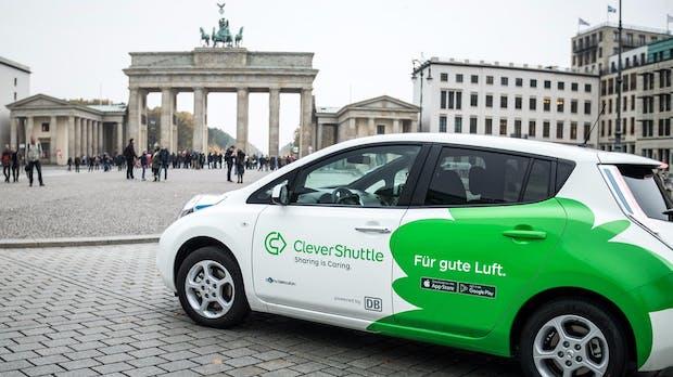 Clevershuttle: Daimler steigt als strategischer Investor bei dem Elektro-Fahrdienst ein