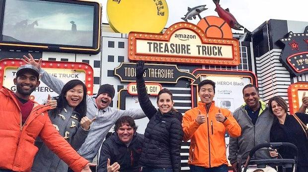 Der völlig verrückte Verkaufslaster: Was Amazon mit dem Treasure-Truck vor hat