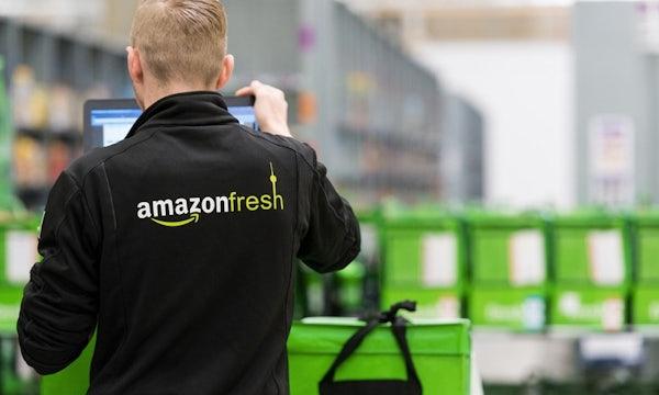 DHL stoppt Lieferung: Amazon Fresh stellt Lebensmittel jetzt selbst zu