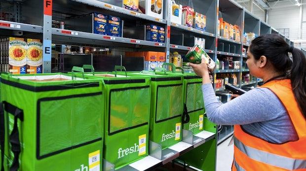 Amazon reißt bereits ein Viertel des Online-Lebensmittelmarkt an sich