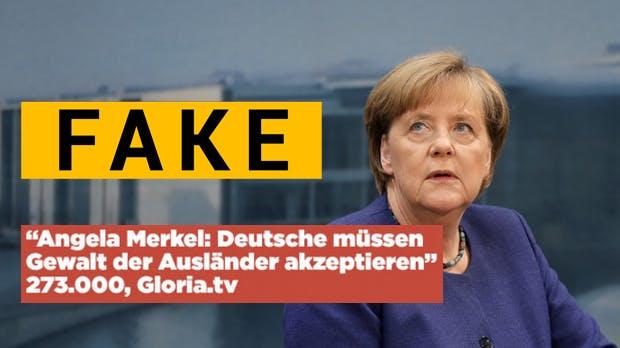 Facebook-Analyse: 7 der 10 erfolgreichsten Artikel über Angela Merkel sind frei erfunden