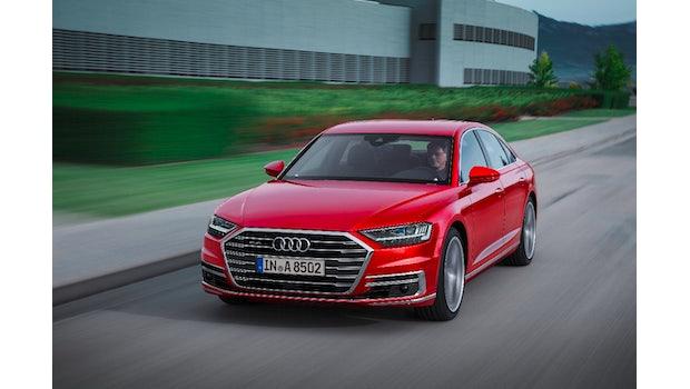 Der neue Audi A8. (Foto: Audi)