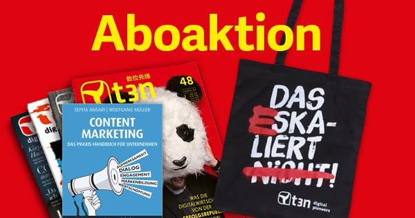 """Handbuch für erfolgreiche Inhalte – 30 mal """"Content-Marketing"""" gratis zum t3n-Abo"""