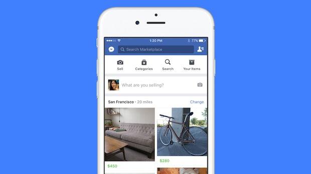 Konkurrenz für Ebay: Facebook bringt seinen Marktplatz nach Deutschland