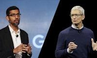 Google kauft Apple für nur 9 Milliarden Dollar? Seltsamer Fehler bei Dow Jones