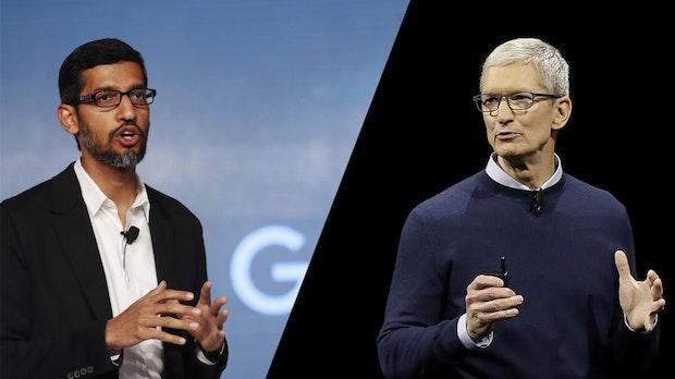 Apple vs. Google: Das sind die Stärken und Schwächen der beiden Tech-Riesen