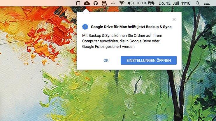 Google Backup & Sync: Neue App hilft beim Erstellen von Backups in der Cloud