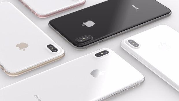 iPhone 8. (Renderbild: Behance; iPhone 8. (Renderbild: Behance; Quinton Theron)