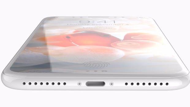 Das iPhone 8 könnte auch als iPhone X oder iPhone Edition präsentiert werden. (Renderbild: Behance; iPhone 8. (Renderbild: Behance; Quinton Theron)